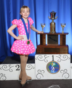 William O. Smythe Memorial Trophy 11 and under 2016 - Adrianna Kunz
