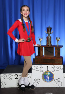 William O. Smythe Memorial Trophy 12 and over 2016 - Lili Burrows